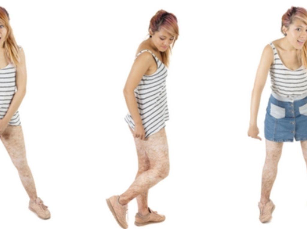Ada Legging Bermotif Bulu Kaki, Kreatif atau Menjijikkan?