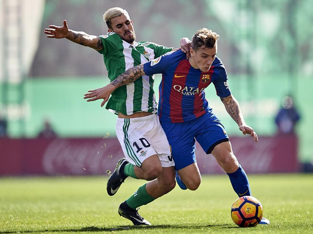 Real Betis: Barcelona Juga Minati Dani Ceballos