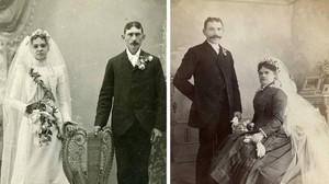 Koleksi Foto Pernikahan di Akhir Era 1800