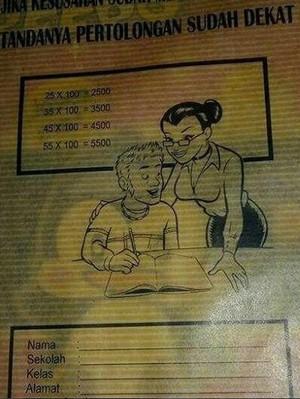 Sampul Buku Tulis Menjurus Pornografi, KPAI Imbau Ortu Waspada