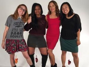 Begini Nih Potret Para Wanita yang Angkat Beban Pakai Miss V