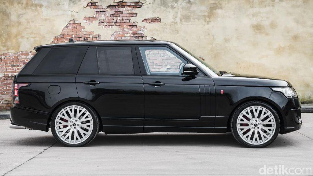 Modif Kece Range Rover Vogue 4WD