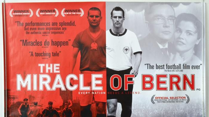 Poster Film Miracle of Bern (Foto: Istimewa)