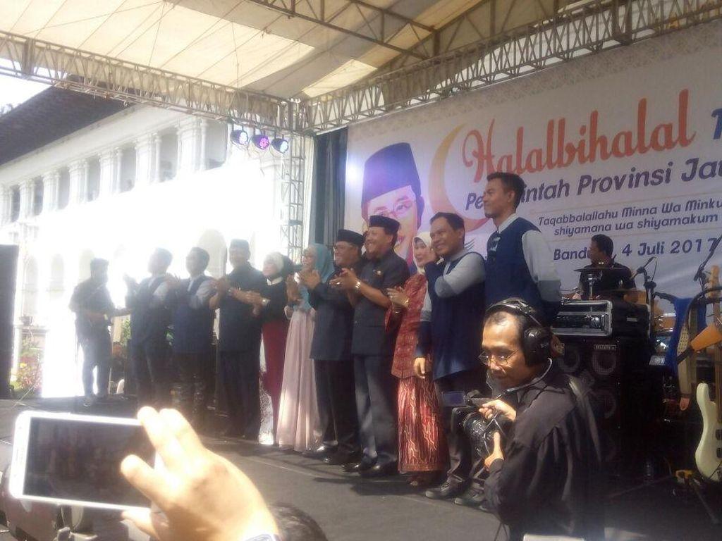 Halalbihalal, PNS Pemprov Jabar Dihibur Wali Band dan Yura Yunita