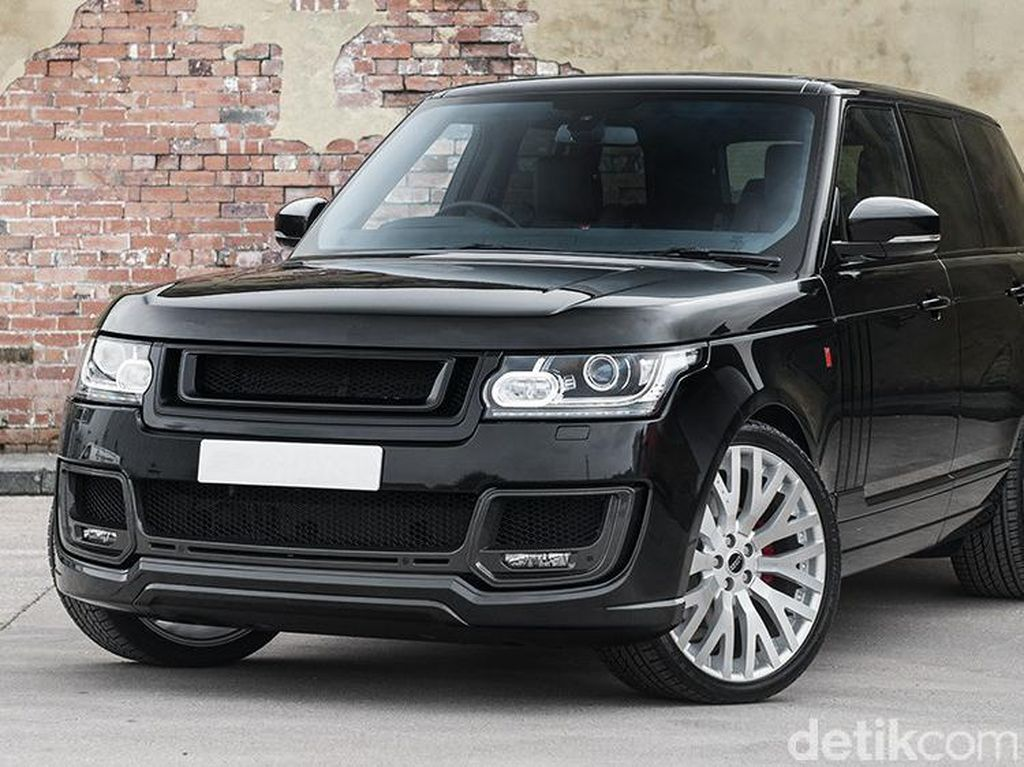 Range Rover Vogue 4WD, Cantik dan Garang Sekaligus