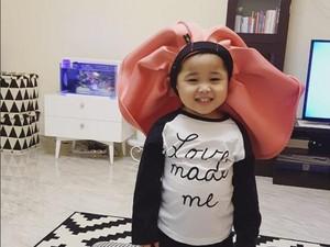Kirana si Selebgram Anak PD Banget, Apa Resepnya Ya?