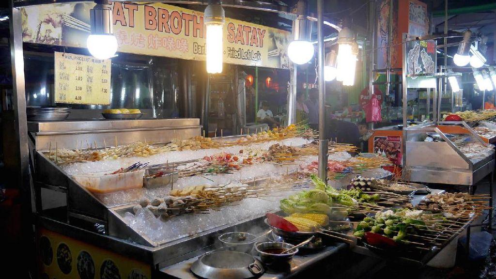 Foto: Wisata Kuliner Sepuasnya di Jalan Alor Kuala Lumpur