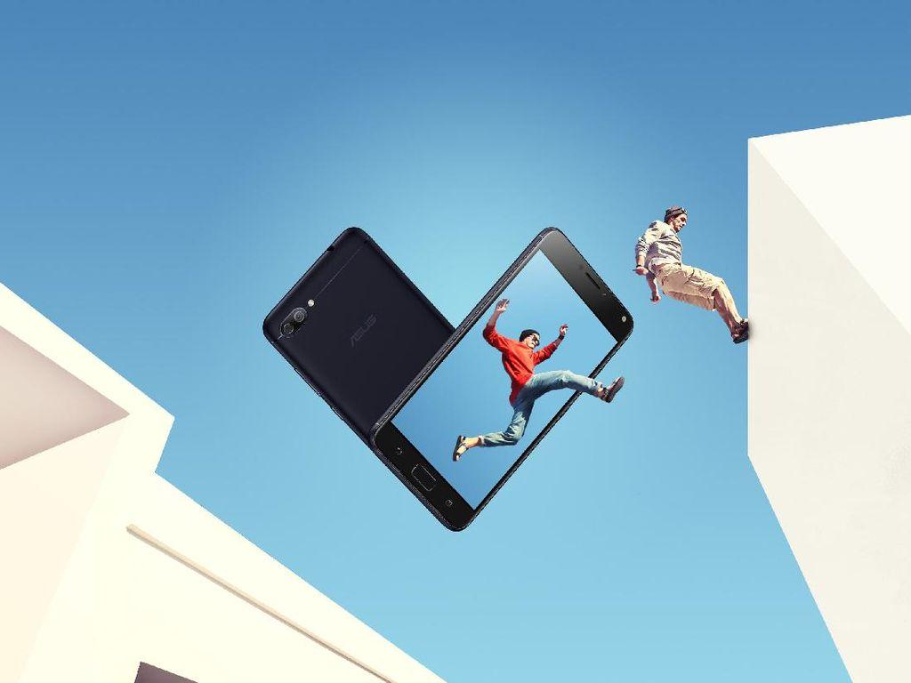 Aksi Zenfone 4 Max Pro yang Menggoda