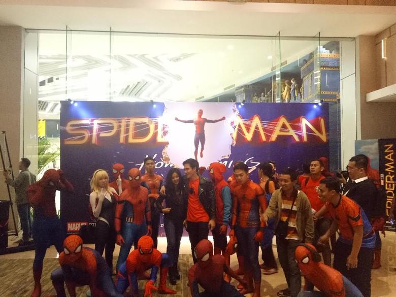 Spider-Man: Homecoming Puaskan Peserta Nonton Bareng
