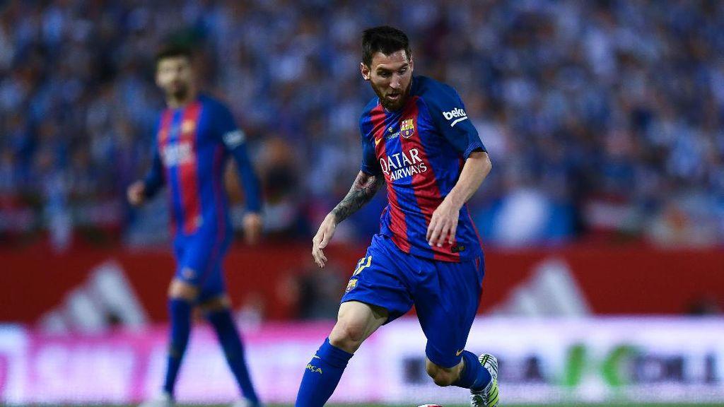 Sudah Tidak Yakin dengan Barcelona, Messi?