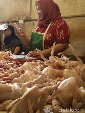 Libur Lebaran Usai, Harga Daging Ayam Turun