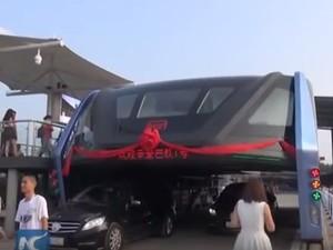 Dituding Sebagai Penipuan, Proyek Bus Ngangkang di China Disetop