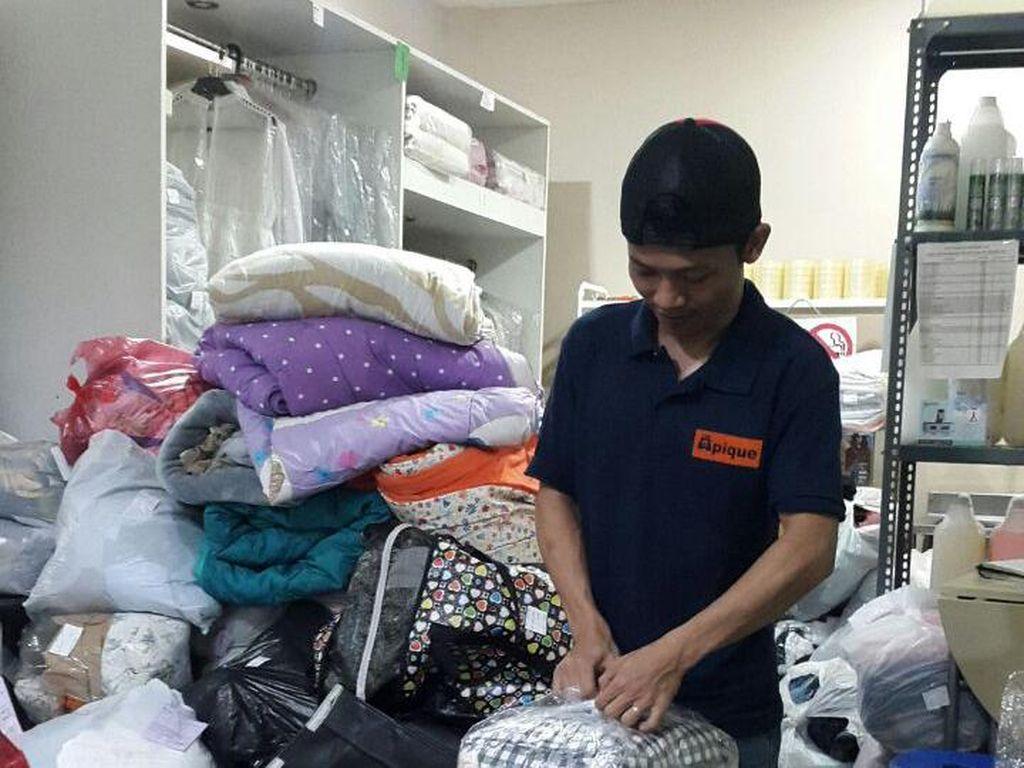 Meski Tarif Naik, Jasa Laundry Pasca Lebaran Tetap Diminati