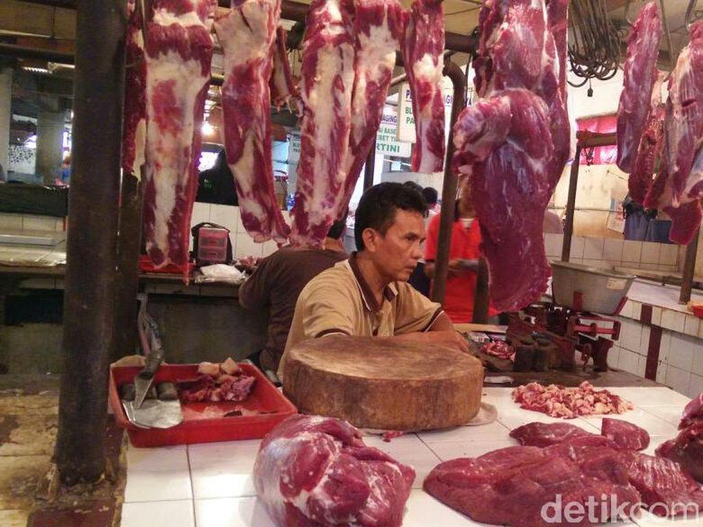 Jelang Tahun Baru 2018, Harga Daging Sapi Masih Rp 120.000
