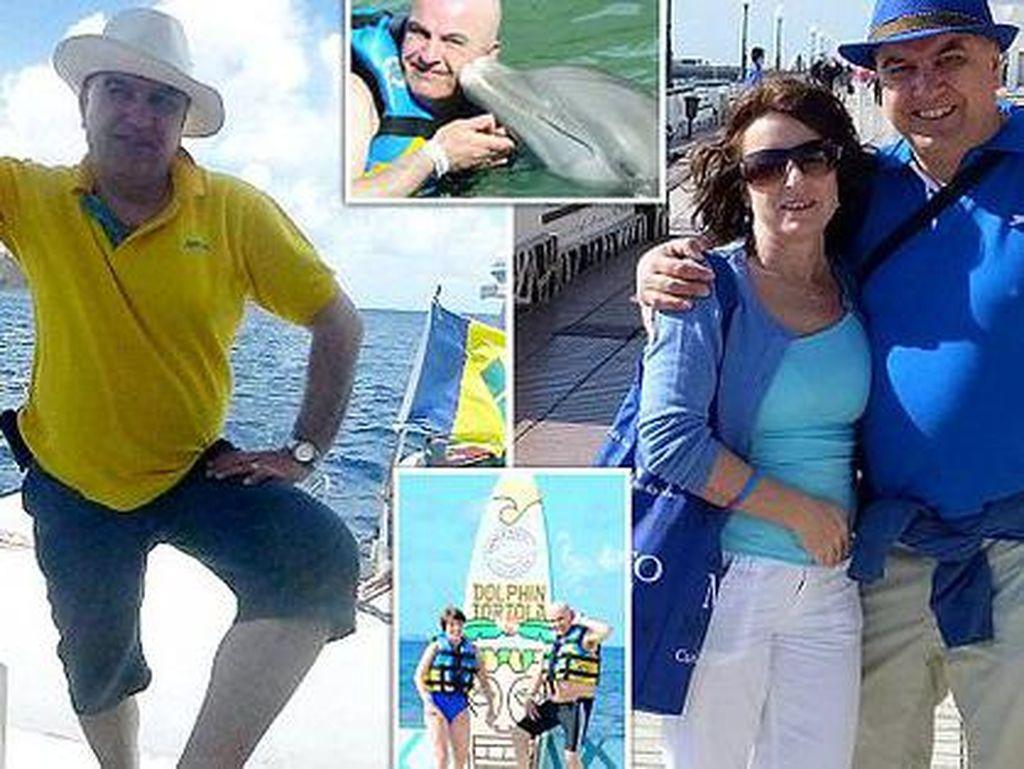 Hidupnya Tinggal 5 Tahun Lagi, Pria Ini Ajak Istrinya Keliling Dunia