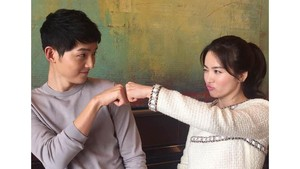 Song Joong Ki dan Song Hye Kyo Foto Prewedding di Golden Gate