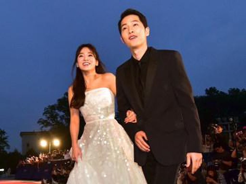 Pernikahan Song Joong Ki-Song Hye Kyo Tertutup, Tak Ada Konferensi Pers