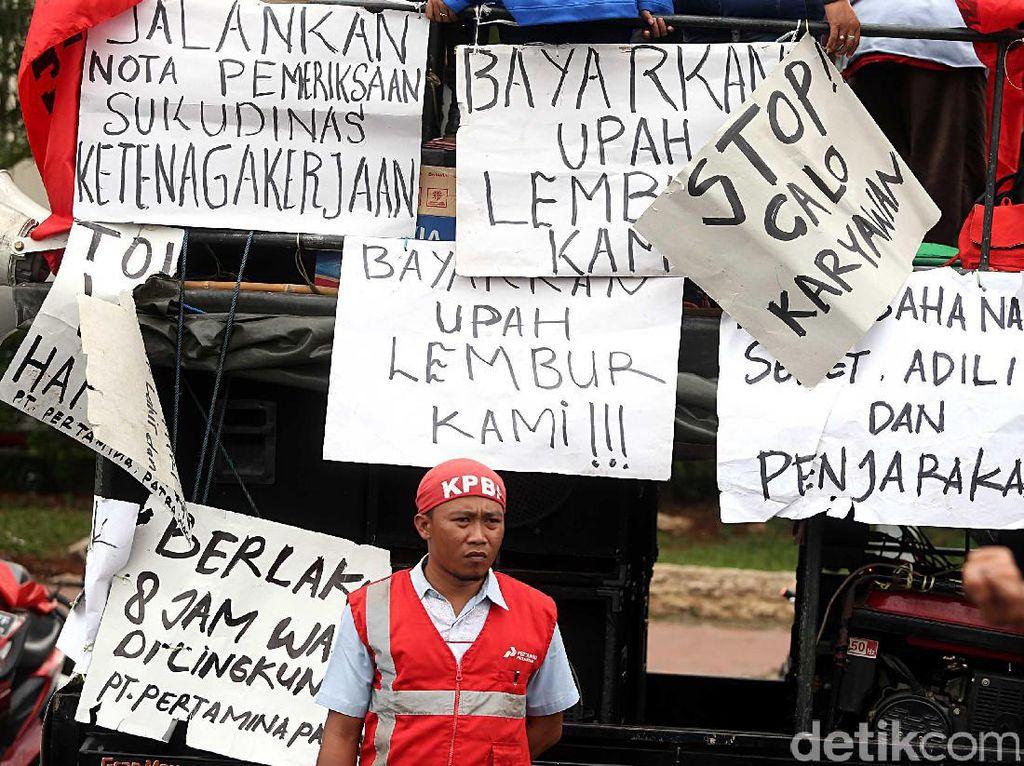 Sopir Tangki Demo Berkali-kali, Pertamina Pastikan Distribusi BBM Aman