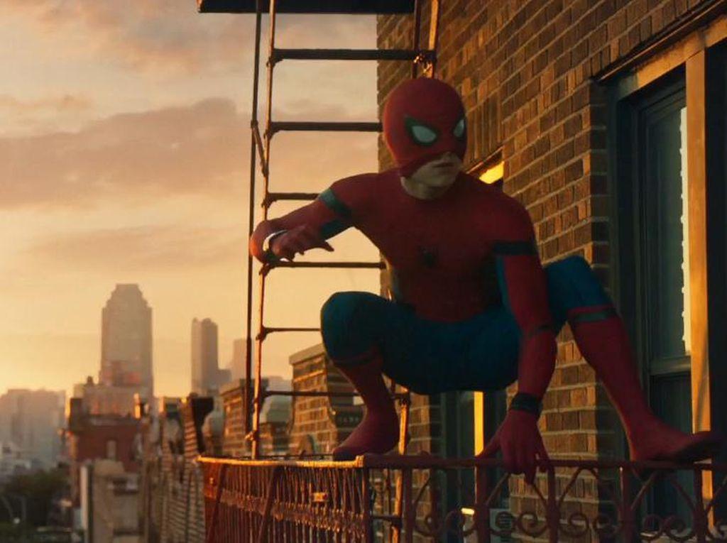Puja-puji untuk Spider-Man: Homecoming