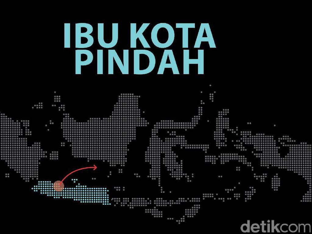 Ketua MPR Pilih Ibu Kota Dipindahkan ke Kalimantan atau Jonggol?