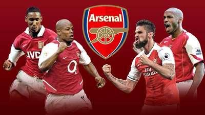Striker-Striker Hebat Prancis di Arsenal