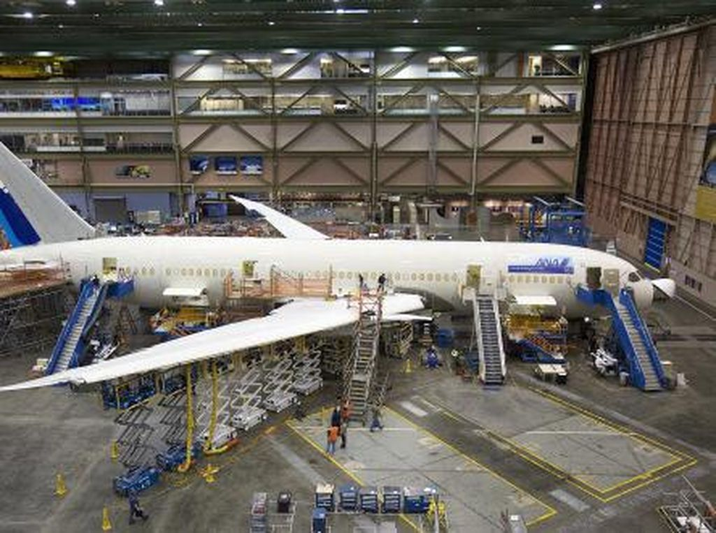 Telat Kirim Pesawat, Boeing Digugat Rp 5 Triliun