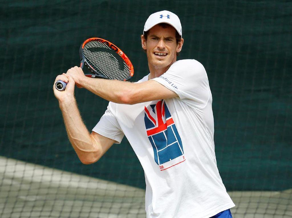 Kritik Sebelum Wimbledon Melecut Motivasi Murray