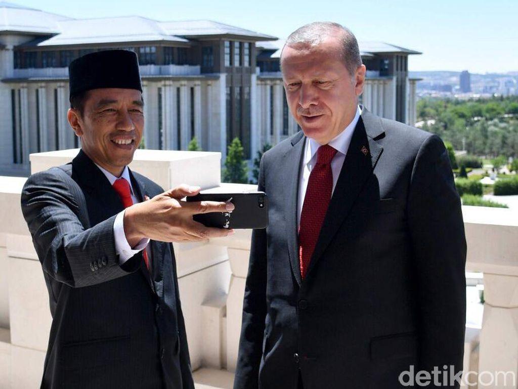 Erdogan Bakal Temui Jokowi Tahun Depan