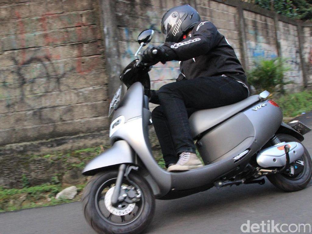 Menguji Skuter Listrik Viar Q1 di Jalanan Jakarta