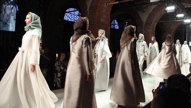 Pamer Hijab di Italia, Desainer Indonesia Berpotensi Raup 1 Juta Euro
