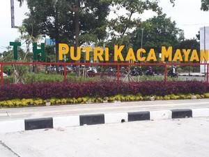 Foto: Inilah RTH Putri Kaca Mayang Pekanbaru