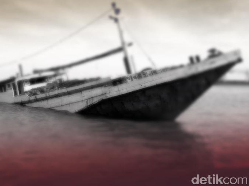 Sebuah Kapal Terbalik di Cilacap, Satu Nelayan Hilang