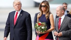 KTT G20 Diwarnai Unjuk Rasa, Melania Trump Terjebak di Hotel