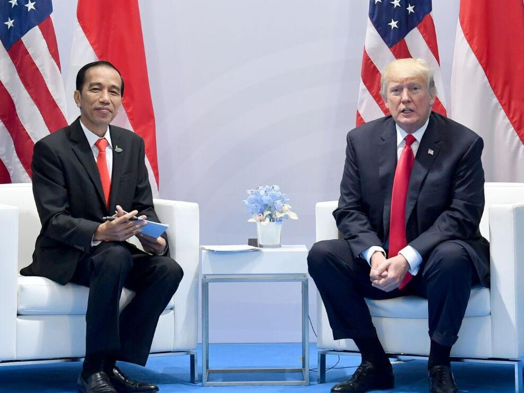 Jokowi Pilih Jamu Demi Stamina, Trump Minum Obat Malaria Tangkal Corona
