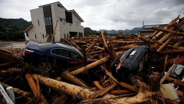 Korban Tewas Banjir Besar di Jepang Jadi 15 Orang, 22 Warga Hilang