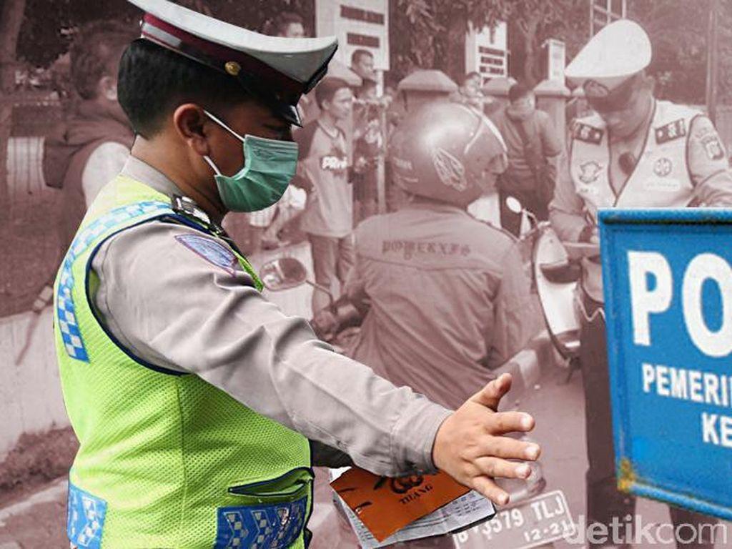Polisi Cek Asal Muasal RX King Bodong yang Ditendang Polisi