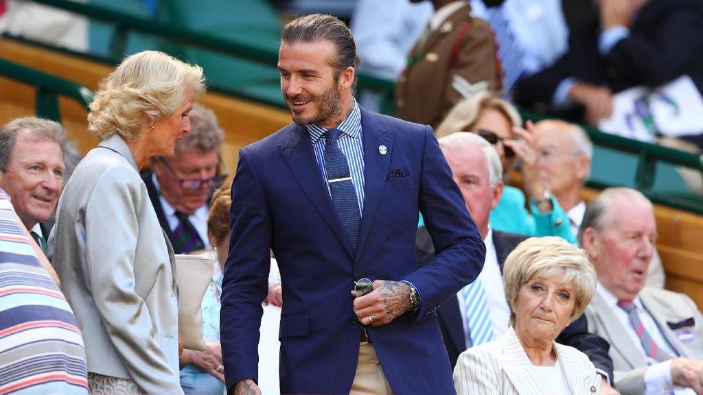 Viral, Video Hijabers Tolak Bersalaman dengan David Beckham
