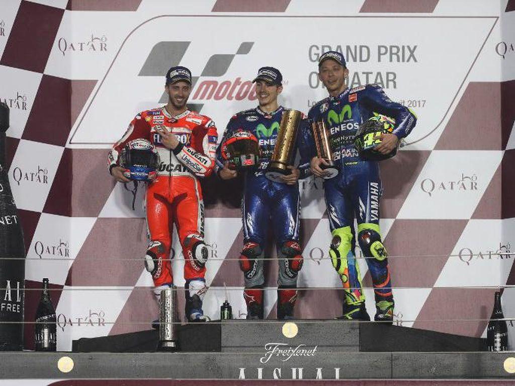 Absen Ulang Para Penghuni Podium Paruh Pertama MotoGP 2017