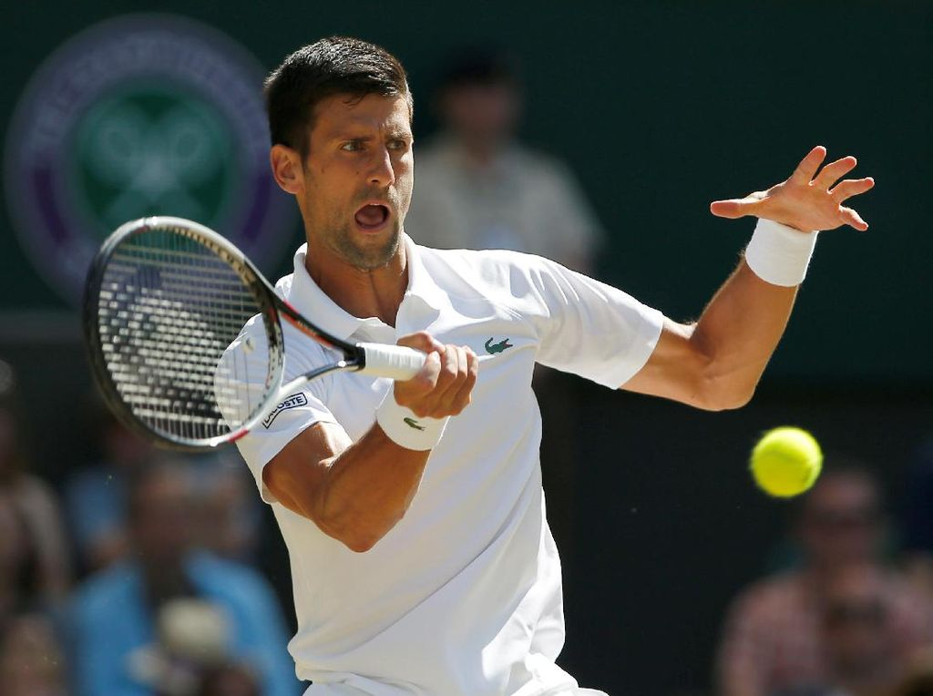 Djokovic Melaju ke Babak 16 Besar
