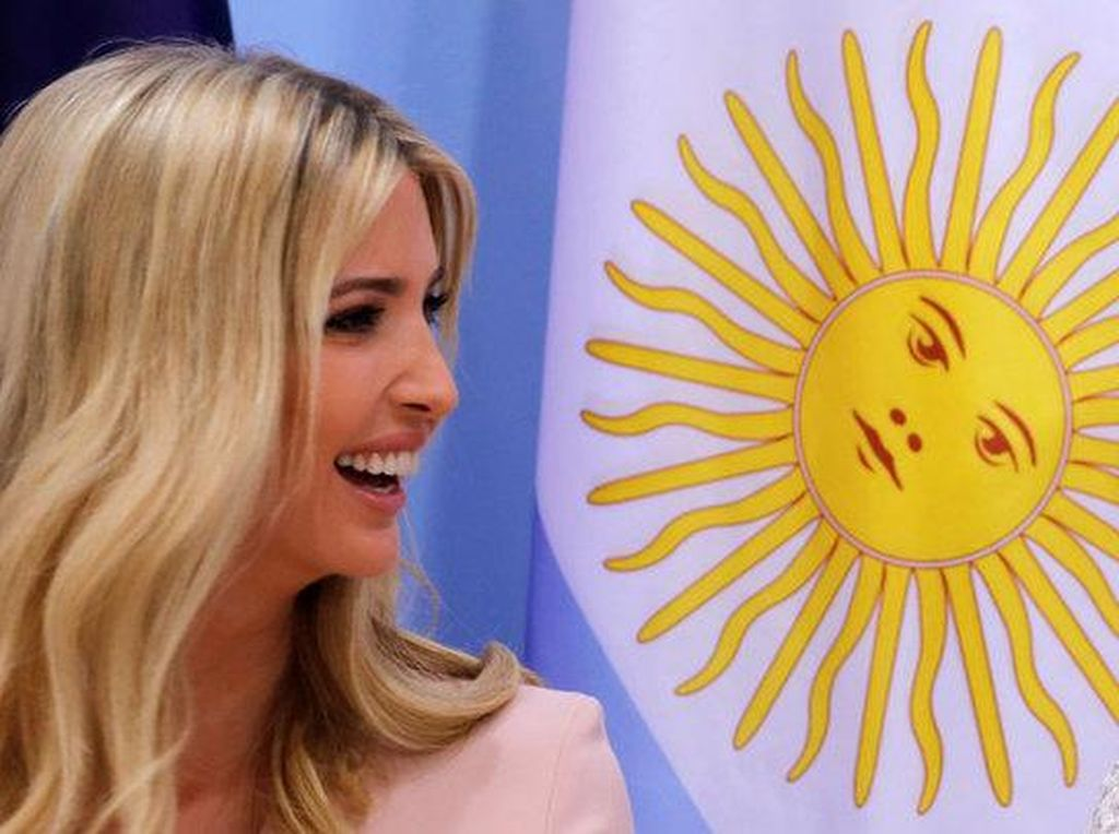 Ivanka Trump Beri Selamat bagi Wanita Saudi