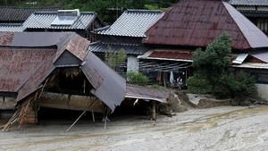 Korban Jiwa Akibat Banjir di Jepang Bertambah Menjadi 25 Orang