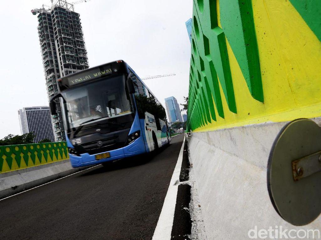 Melihat Kesiapan Koridor 13 TransJ Sebelum Diresmikan