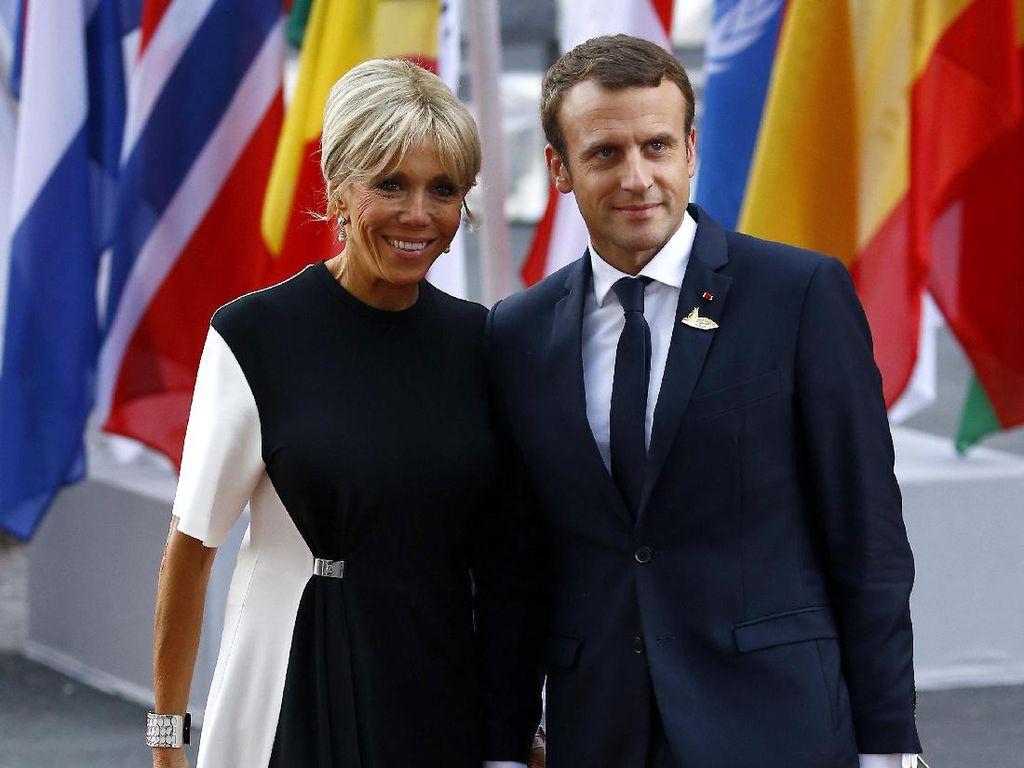 Istri Presiden Prancis Hanya Pakai Jeans ke Paris Fashion Week, Yay or Nay?