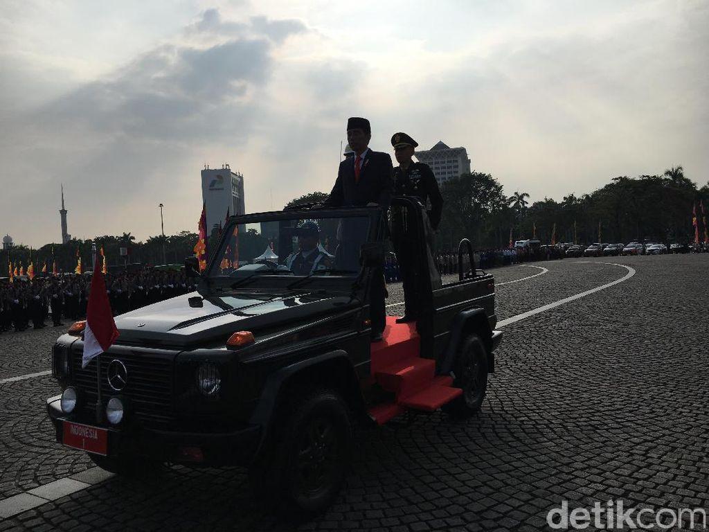 Jokowi: Terorisme, Narkoba dan Kejahatan Siber Harus Dihancurkan!