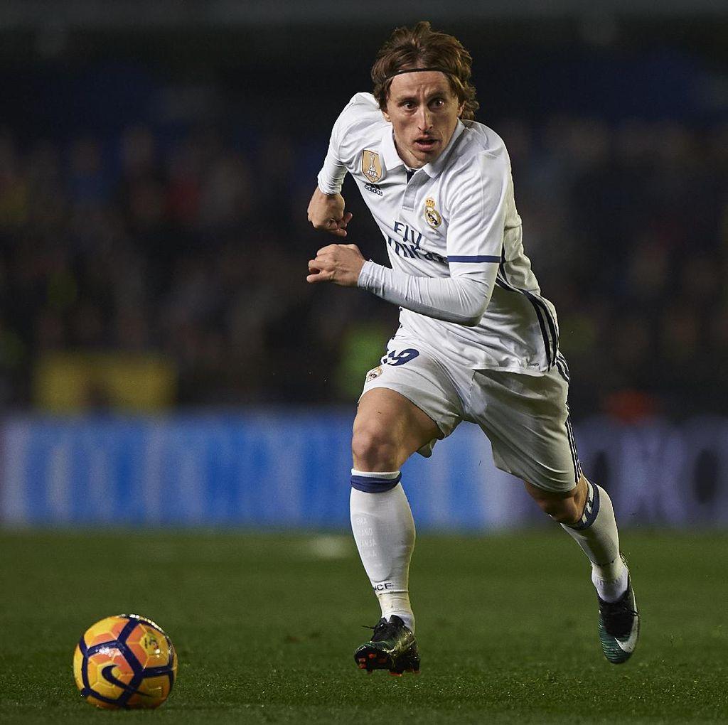 Modric Pergi dari Spurs ke Madrid untuk Naik Level