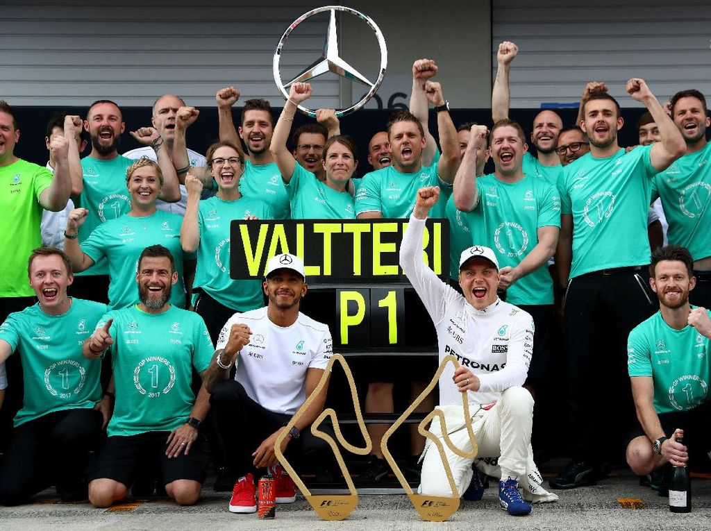 Bottas Targetkan Hubungan Jangka Panjang dengan Mercedes