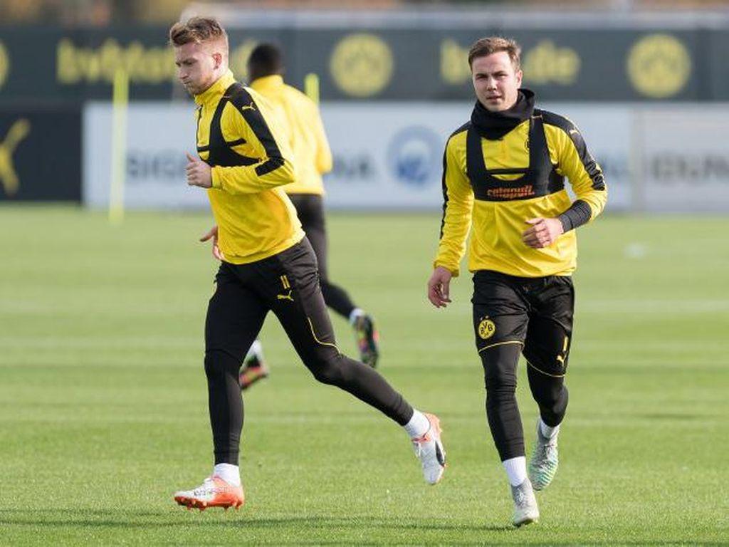 Dortmund Tak Mau Ambil Risiko dengan Kondisi Goetze
