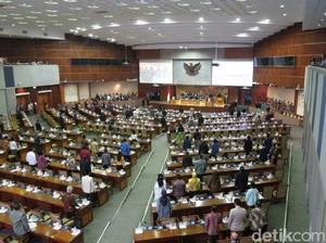 Sidang Paripurna RAPBN 2018, 308 Anggota DPR Tak Hadir