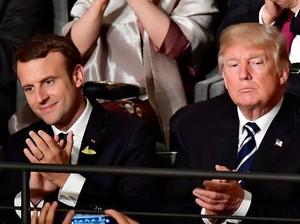 Presiden Prancis Akan Ajak Donald Trump Makan Malam di Menara Eiffel