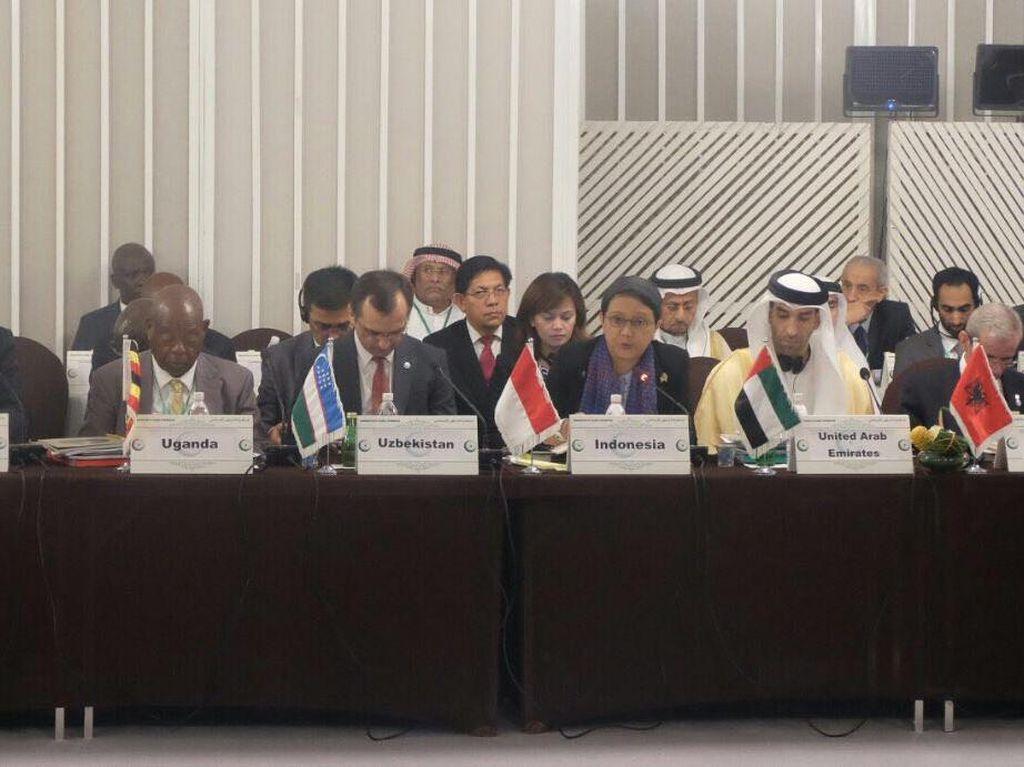 Di Konferensi OKI, Menlu Retno Ajak Pemuda Islam Lawan Terorisme